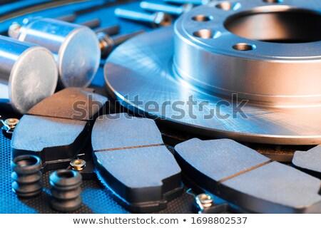 Disco freno gris coche metal Foto stock © papa1266