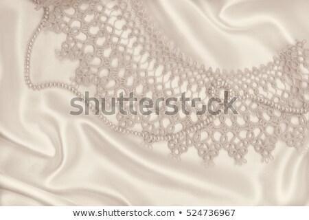 ketting · juwelen · oorbellen · illustratie · bruiloft - stockfoto © barbaliss