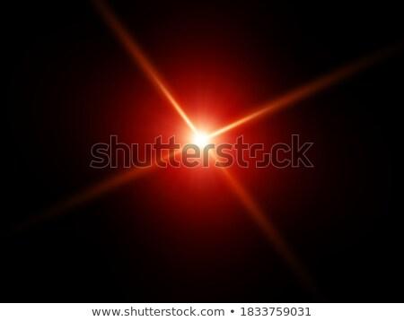 赤 · 色 · デザイン · バースト · eps · ベクトル - ストックフォト © beholdereye