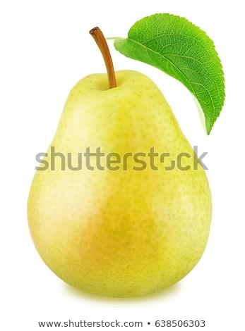 Stockfoto: Rijp · Geel · peren · witte · voedsel · zomer