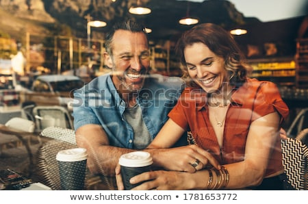 mature couple in restaurant stock photo © photography33