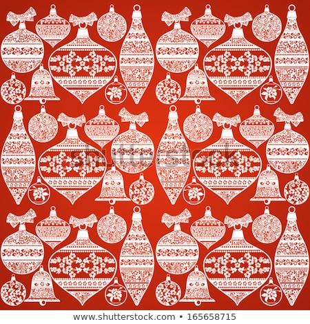piros · karácsony · grunge · textúra · fal · háttér · fém - stock fotó © beholdereye