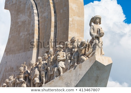 Monument of discoveries, Belem Stock photo © dinozzaver