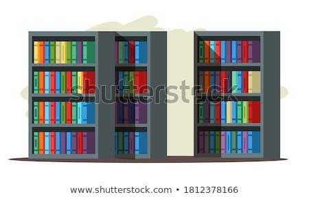 Bookstore interni istruzione mobili store apprendimento Foto d'archivio © zzve