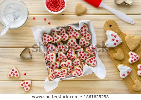 печенье · Sweet · красочный · праздновать · Рождества · сердце - Сток-фото © thomaseder