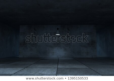 Empty dark room with highlight Stock photo © dvarg