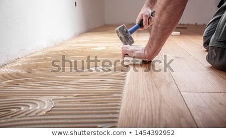 parquet laying Stock photo © magann