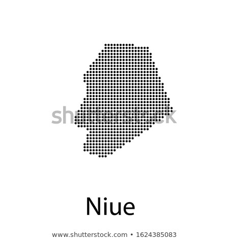 Map of Niue with Dot Pattern Stock photo © Istanbul2009