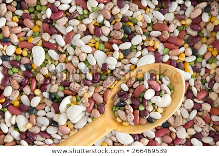 Background of 15 assorted beans and legumes Stock photo © ozgur