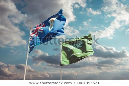 Saudi Arabia and Anguilla Flags Stock photo © Istanbul2009
