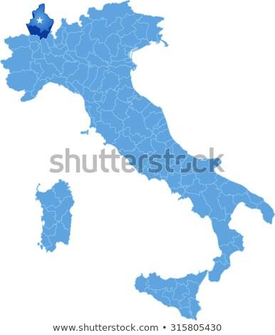 Map of Italy, Verbano-Cusio-Ossola Stock photo © Istanbul2009