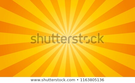 abstract orange background sun rays stock photo © smeagorl