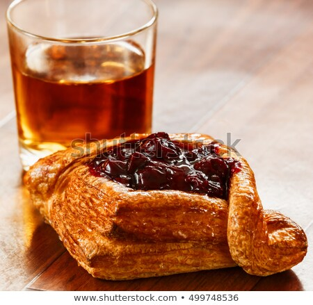 Appel vla zoete brood vulling Stockfoto © Digifoodstock