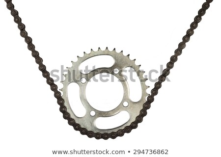 Motorcycle drive chain Stock photo © sarymsakov