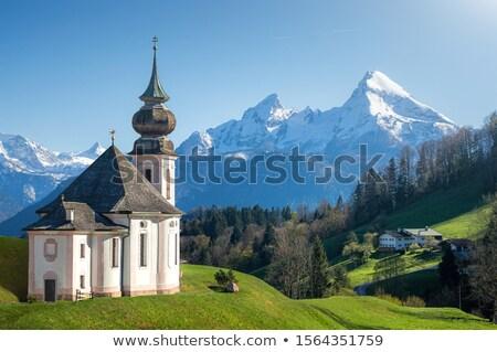 berg · panorama · zonnige · Duitsland · zomertijd · sport - stockfoto © kb-photodesign