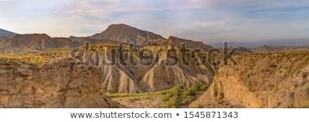 Panorama désert Espagne une monde Photo stock © amok