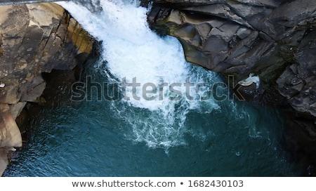 表示 滝 サークル ノルウェー ストックフォト © compuinfoto