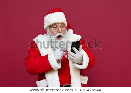 Weihnachten Geschenk Klausel dekorativ Stock foto © bdspn
