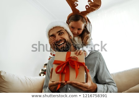 Karácsony ünnep légkör gyerekek ajándékok vektor Stock fotó © robuart