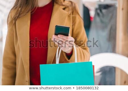 手 買い物客 カラフル ストックフォト © pressmaster