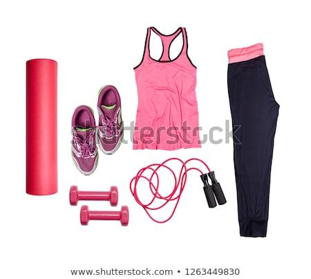 esportes · item · branco · azul - foto stock © catchyimages