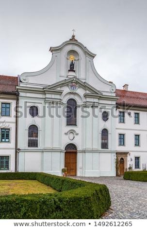Manastır Almanya manastır han stil Stok fotoğraf © borisb17
