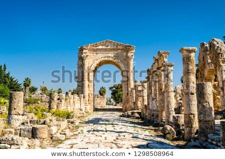 исторический Ливан древних храма руин Vintage Сток-фото © Anna_Om