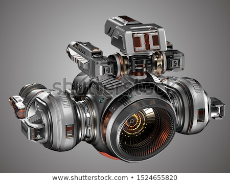 color gunship stock photo © pavelmidi
