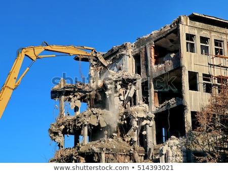 uszkodzenie · starych · budynków · szczegóły · owadów · grzyb - zdjęcia stock © deyangeorgiev