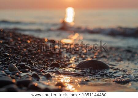Stock foto: Pebbles On The Shore
