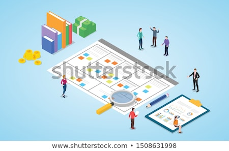 vector business model illustration stock photo © orson