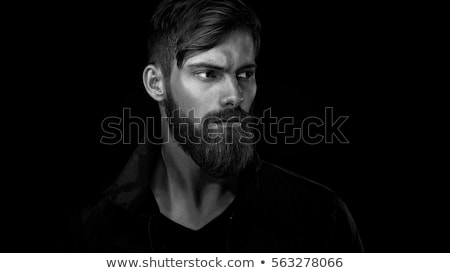 portrait of pensive looking unshaven men Stock photo © RuslanOmega