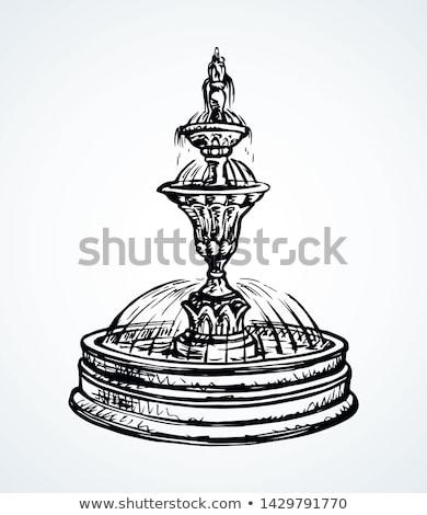 city fountain ornament Stock photo © smithore