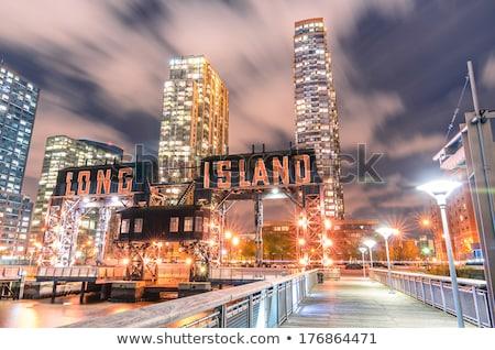 waterside building in New York Stock photo © prill