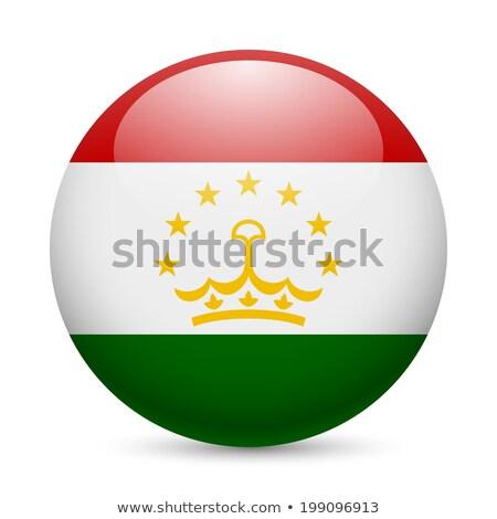 Button Tajikistan Stock photo © Ustofre9