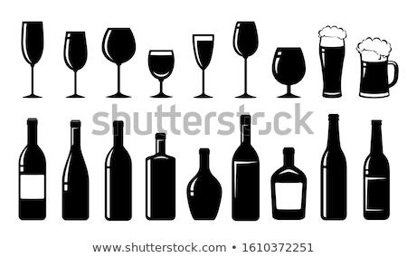 goblet with alcohol Stock photo © kyolshin