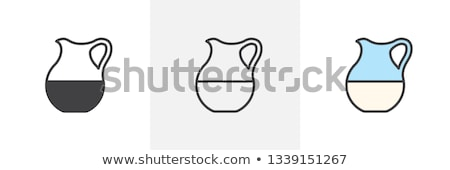 Filling jar with water Stock photo © zzve