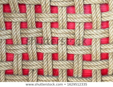 Abstract interlacing of knitted  fibres Stock photo © vavlt