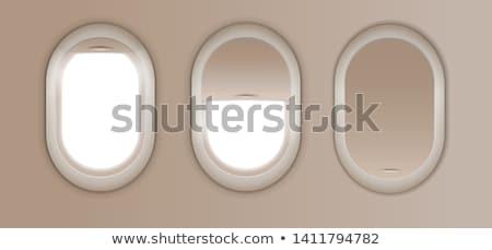 мнение · самолета · окна · небе · облака · мира - Сток-фото © moses