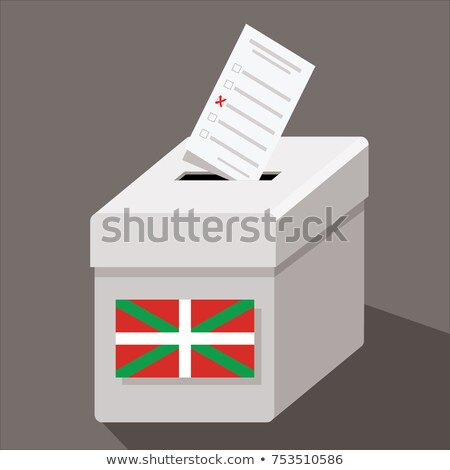 Ballot box Basque Country Stock photo © Ustofre9