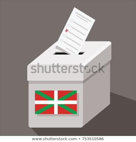 élection · scrutin · dessin · vert · école · tableau - photo stock © ustofre9