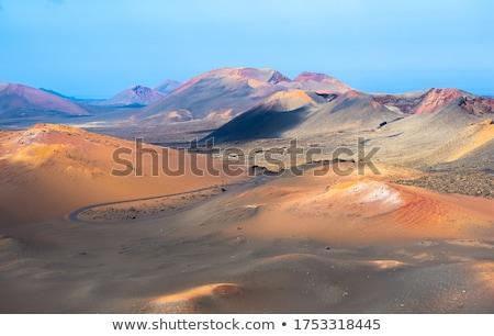 volcanic area Timanfaya in Lanzarote Stock photo © meinzahn