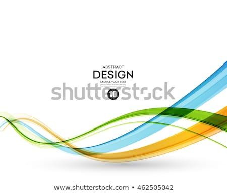 аннотация волнистый цветами иллюстрация спорт Мир Сток-фото © smeagorl