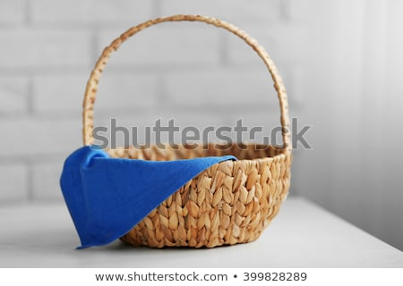 Small empty wicker basket Stock photo © hin255