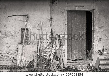 the old farm shed stock photo © rghenry