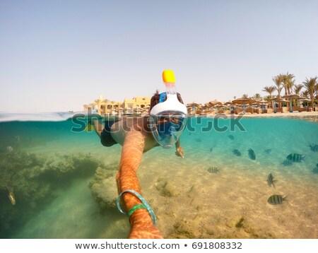 Stock fotó: Vörös-tenger · felület · víz · természet · háttér · nyár