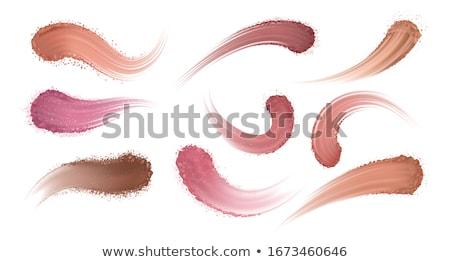 макияж · глаза · Тени · изолированный · белый · моде - Сток-фото © phbcz