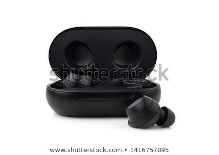 preto · móvel · ar · condicionado · branco · botão · plástico - foto stock © ozaiachin