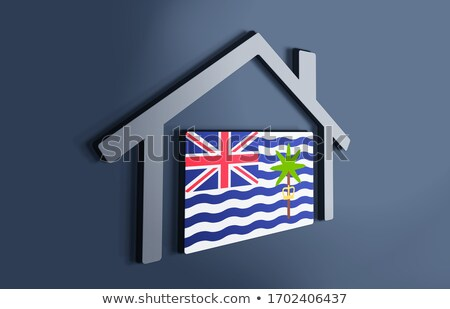 I love british indian ocean territory sign Stock photo © MikhailMishchenko