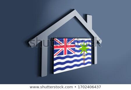 i love british indian ocean territory sign stock photo © mikhailmishchenko